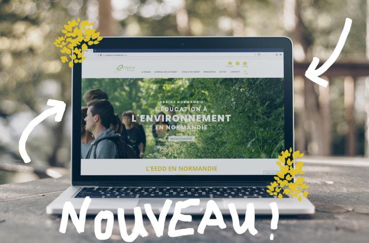 le graine normandie - Le site internet du GRAINE Normandie fait peau neuve !