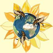 Logo - Planète Abeilles & Compagnie